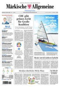 Märkische Allgemeine Fläming Echo - 27. Februar 2018