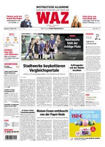 WAZ Westdeutsche Allgemeine Zeitung Oberhausen-Sterkrade - 26. Februar 2019