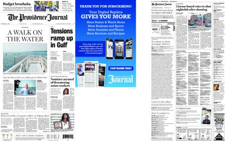 The Providence Journal – May 21, 2019