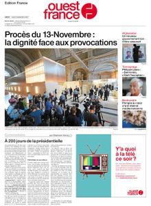 Ouest-France Édition France – 09 septembre 2021