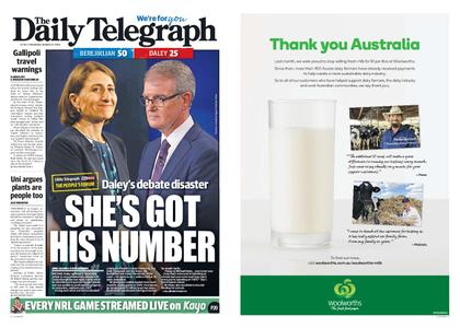 The Daily Telegraph (Sydney) – March 21, 2019