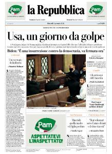la Repubblica - 7 Gennaio 2021