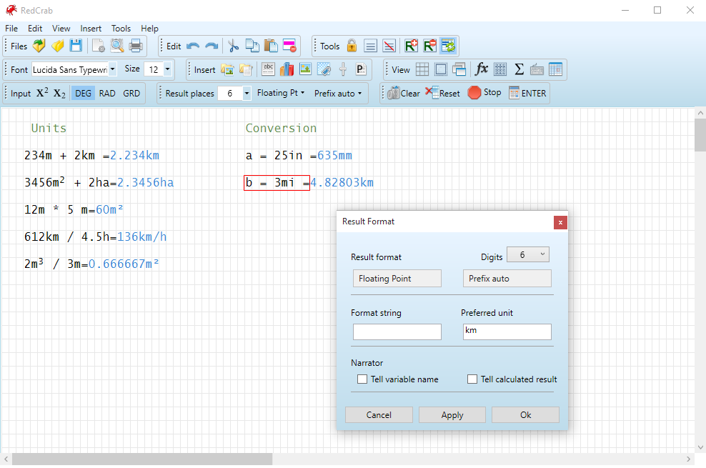 RedCrab Calculator PLUS 7.6.1.713 Portable