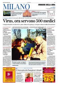 Corriere della Sera Milano – 05 marzo 2020