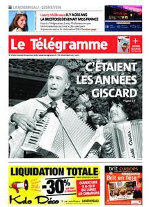 Le Télégramme Landerneau - Lesneven – 04 décembre 2020