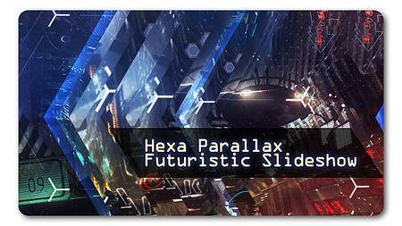 Hexa Parallax - Futuristic Slideshow - Project for After Effects (VideoHive)