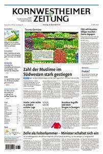 Kornwestheimer Zeitung - 25. September 2018