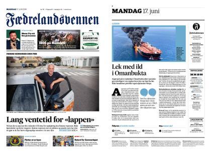 Fædrelandsvennen – 17. juni 2019