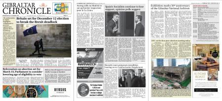 Gibraltar Chronicle – 30 October 2019