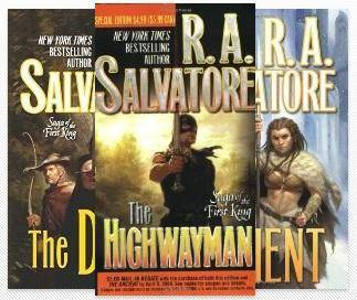 Saga of the First King Book Series Book 1- 4 by R.A. Salvatore
