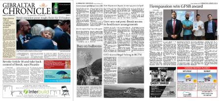 Gibraltar Chronicle – 22 March 2019