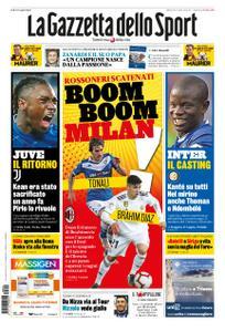 La Gazzetta dello Sport Roma – 29 agosto 2020