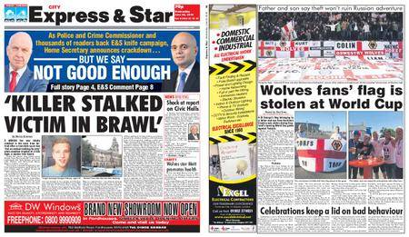 Express and Star City Edition – June 20, 2018