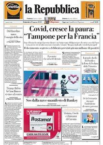 la Repubblica - 30 Agosto 2020