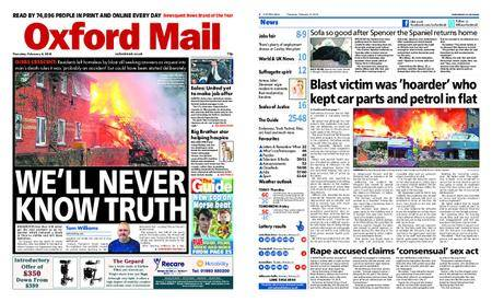 Oxford Mail – February 08, 2018