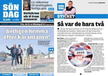 Ålandstidningen – 08 mars 2020