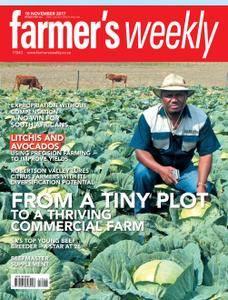 Farmer's Weekly - 10 November 2017