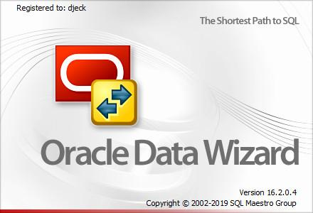 SQLMaestro Oracle Data Wizard 16.2.0.4 Multilingual