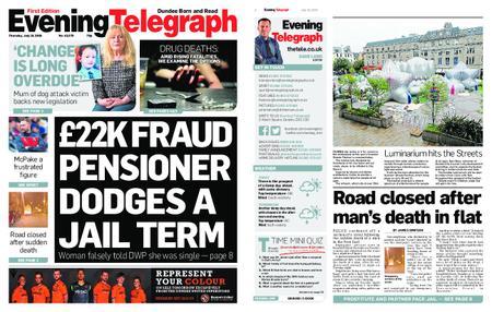 Evening Telegraph First Edition – July 18, 2019