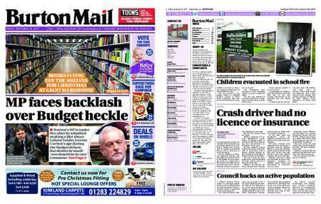 Burton Mail – November 24, 2017