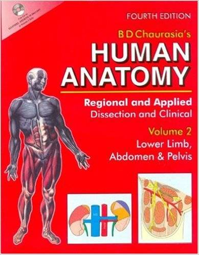 Human Anatomy: Regional & Applied, Vol. 2: Lower Limb, Abdomen & Pelvis, 4th edition