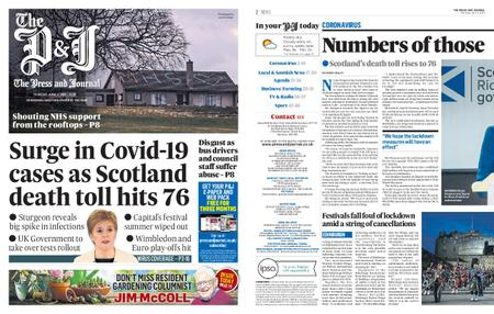 The Press and Journal Moray – April 02, 2020