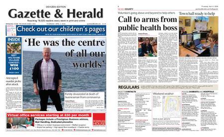 Gazette & Herald – April 02, 2020