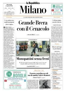 la Repubblica Milano - 14 Agosto 2019
