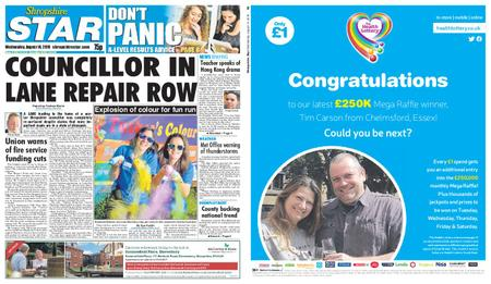 Shropshire Star Shrewsbury Edition – August 14, 2019
