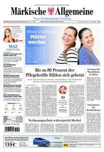 Neue Oranienburger Zeitung - 08. September 2018