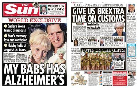 The Sun UK – 10 May 2018