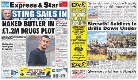 Express and Star Sandwell Edition – April 18, 2018