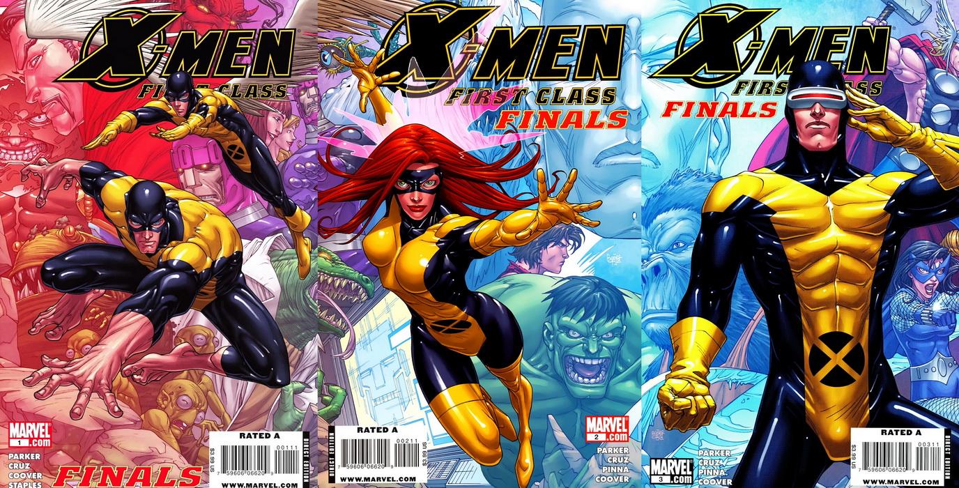 X-Men First Class Finals ( 4 of 4 ) Complete