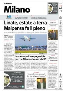 la Repubblica Milano - 16 Aprile 2019
