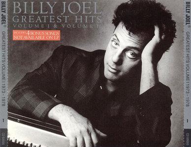 Billy Joel - Greatest Hits, Volume I & Volume II: 1973-1985 (1985) 2CDs [Re-Up]