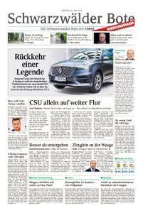 Schwarzwälder Bote Blumberg - 26. Juni 2018