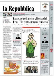 la Repubblica - 30 Dicembre 2018