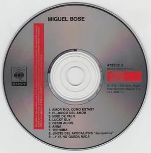 Miguel Bosé - Miguel Bosé (1978) [1992, Reissue]