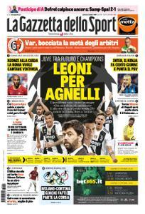 La Gazzetta dello Sport Roma – 02 ottobre 2018