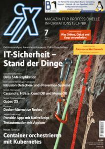 iX Magazin - Juli 2017