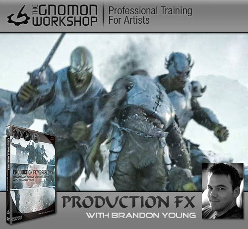 Gnomon Workshop: Production FX Workflows Dragon Age: Origins