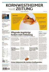 Kornwestheimer Zeitung - 31. Dezember 2018