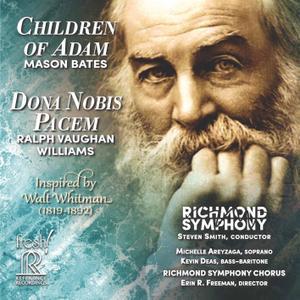 Richmond Symphony - Mason Bates: Children of Adam - Vaughan Williams: Dona nobis pacem (Live) (2019) [24/96]