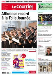 Le Courrier de l'Ouest Cholet – 26 janvier 2020