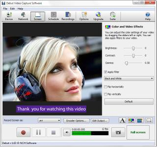 NCH Debut Video Capture Software Pro 5.09