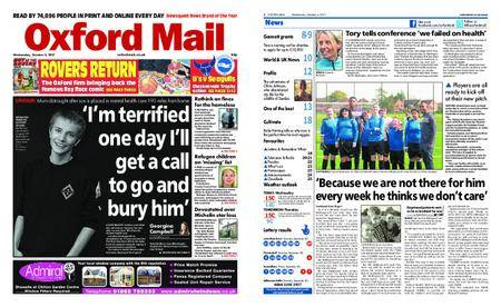 Oxford Mail – October 04, 2017