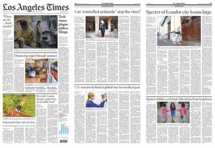 Los Angeles Times – April 27, 2020