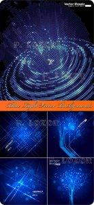 Blue Light Vector Backgrounds