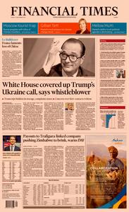 Financial Times Europe – 27 September 2019