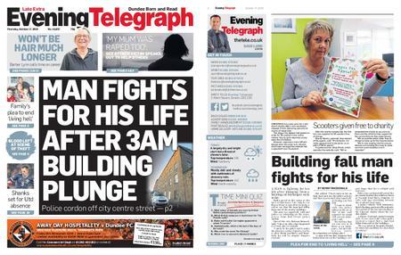 Evening Telegraph First Edition – October 17, 2019